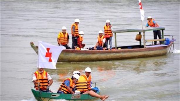 Mỹ viện trợ 100.000 USD ứng phó thiệt hại bão số 6