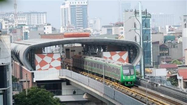 Chạy thử đường sắt Cát Linh - Hà Đông trong năm 2020