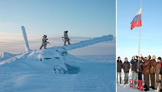 NI mơ ngày Nga-Mỹ bắt tay chặn Trung Quốc ở Bắc Cực