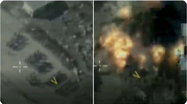 Hơn 100 tay súng thân Thổ thương vong vì bom Nga