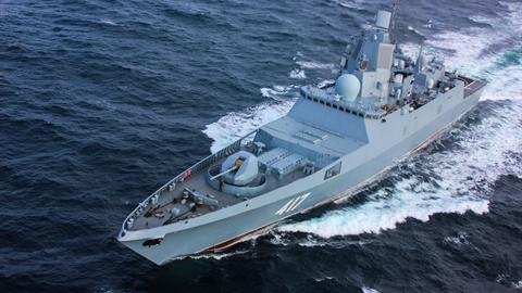 Khinh hạm Dự án 22350 chính thức thoát cảnh phụ thuộc Ukraine