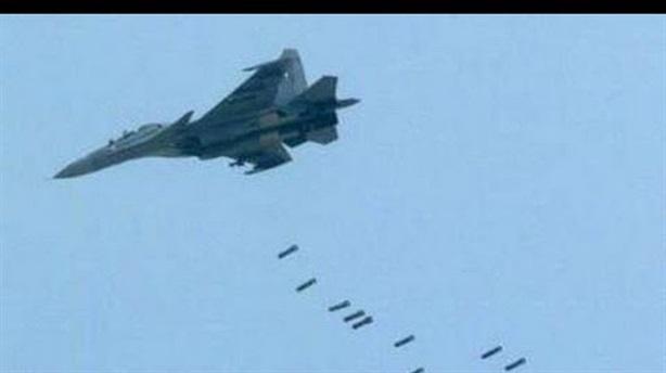 Nga và SAA dùng hơn 20 máy bay không kích IS