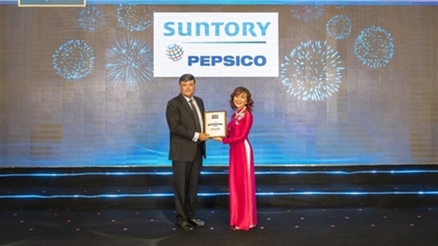Suntory PepsiCo giữ vị thế cty đồ uống không cồn uy tín