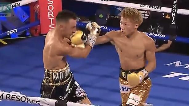 Một đòn thẳng mặt, võ sĩ Nhật hạ gục đối thủ Australia