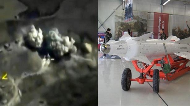 Tên lửa dẫn đường X-29L dội đòn thù vào phiến quân