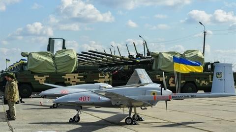 Ukraine lần đầu sử dụng UAV Bayraktar TB2 tấn công Donbass