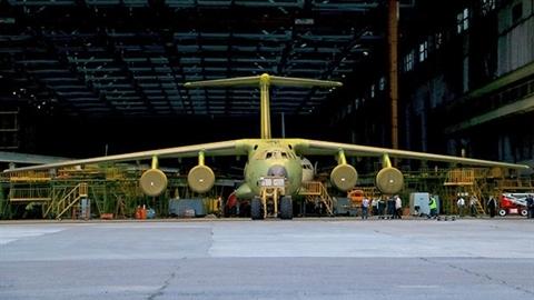 Tải trọng vận tải cơ Il-76 nâng cấp tăng thêm tới 25%