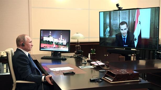 Ông Putin và ông Assad thảo luận về Syria