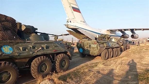 Nga điều 90 xe bọc thép đến Nagorno-Karabakh