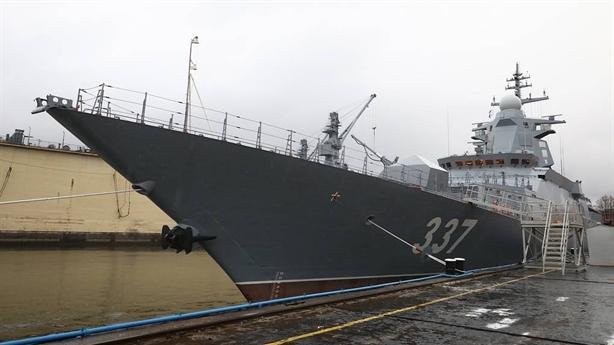 Nga trang bị tàu cực mạnh khi Mỹ lộ bài tại TBD