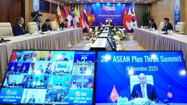 Trung-Nhật-Hàn coi trọng vai trò trung tâm của ASEAN