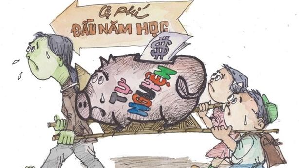 Tăng học phí không ngại bằng lạm thu