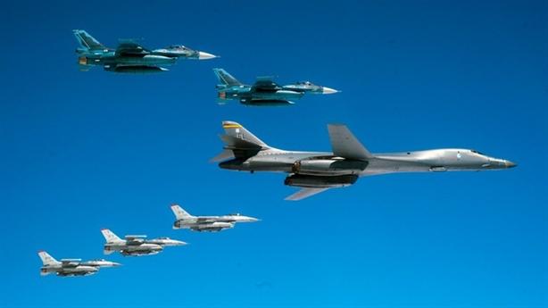 Mỹ triển khai nhanh B-1B Lancer đối phó Nga