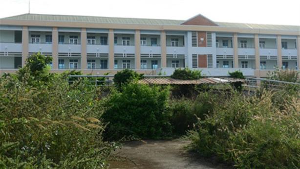 Trường nghề 60 tỷ bị bỏ trống 2 năm: Giải thích nóng
