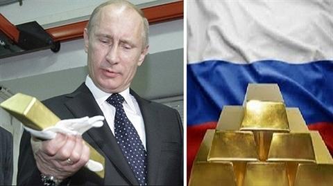 Nga tăng tốc tiến vào Top 3 dự trữ vàng thế giới
