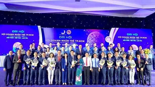 Hội doanh nhân trẻ Tp.HCM có chủ tịch mới