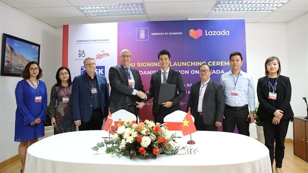 Lazada có trang thương hiệu quốc gia đầu tiên từ Đan Mạch