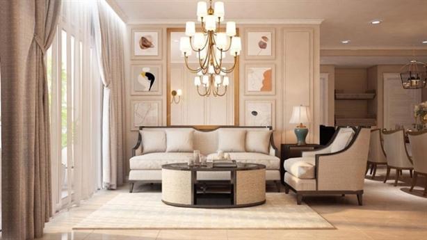 Khám phá nội thất tân cổ điển cho căn hộ chung cư