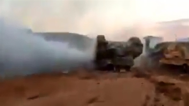 Lính Israel bỏ chạy khi Merkava kẹt chân ga