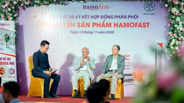 Ra mắt Thực phẩm bảo vệ sức khỏe HamoFast