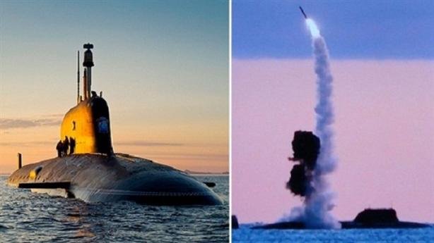Tàu ngầm hạt nhân Nga dùng Kalibr diệt mục tiêu cách 1.000km