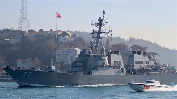 Chiến hạm Mỹ vào Biển Đen giữa lúc Nga-Ai Cập tập trận