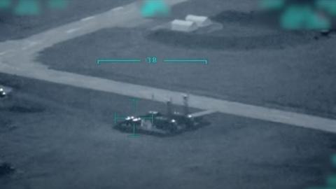 Bayraktar TB2 bay trong lãnh thổ Ukraine, sát Bắc Crimea