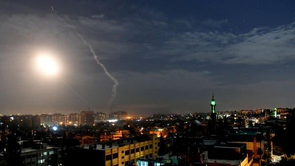 Phòng thủ Syria đánh chặn tên lửa Israel