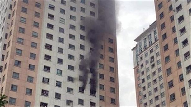 Cháy tại chung cư CT1 Xa La: Bùng phát tại phòng ngủ