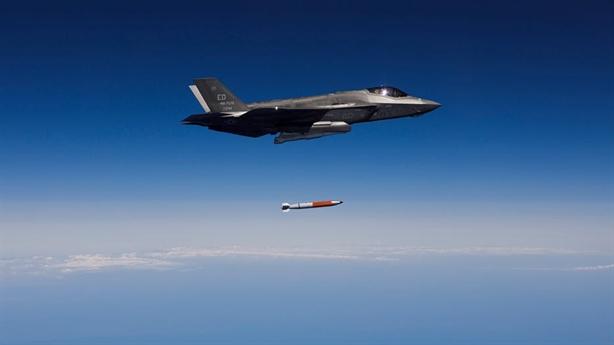Chiến thuật tấn công của F-35 khi mang B61-12