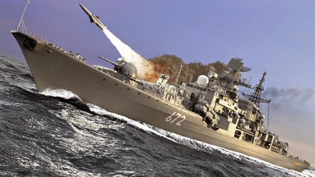 Chiến hạm Nga nã tên lửa tại nơi tàu Mỹ xuất hiện