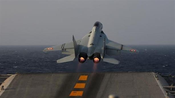 MiG-29K Ấn Độ gặp nạn khi huấn luyện bay