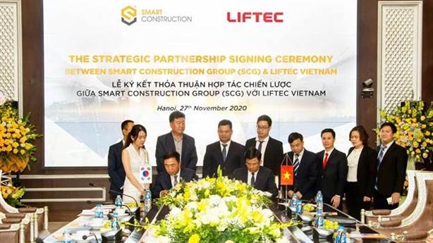 SCG ký hợp tác chiến lược với các đối tác Hàn Quốc