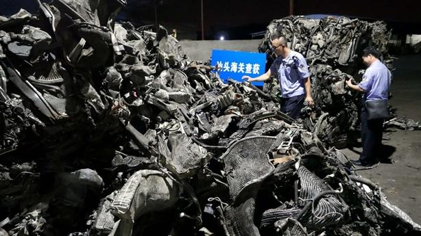 Trung Quốc cấm nhập, chất thải rắn đi đâu?