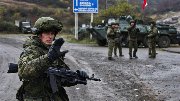 Một lính Nga thiệt mạng sau thỏa thuận Nagorno-Karabakh