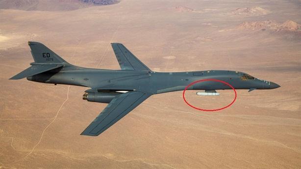 Mỹ trang bị tên lửa siêu thanh cho máy bay B-1B