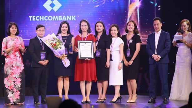 Techcombank - ngân hàng được vinh danh hạng mục