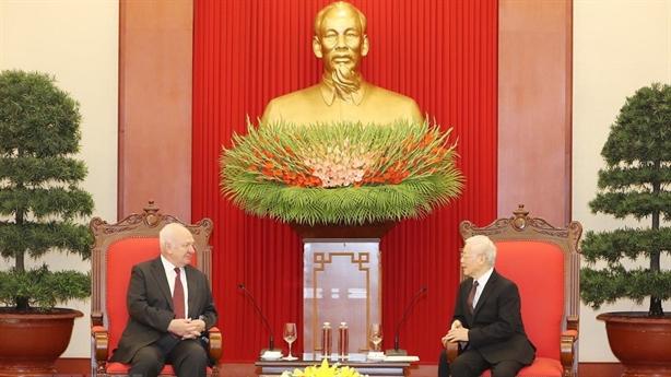 Quan hệ chính trị Việt-Nga có độ tin cậy cao