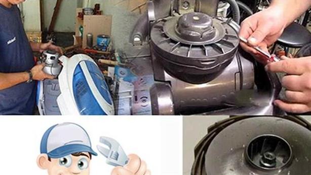 Cách sửa máy hút bụi công nghiệp cầm tay tại nhà