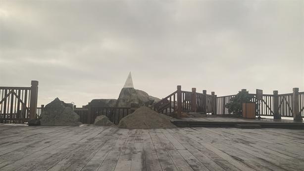 Đỉnh Fansipan tiếp tục xuất hiện sương muối