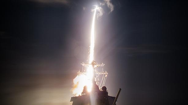 Tên lửa Mỹ mất hút khi đánh chặn
