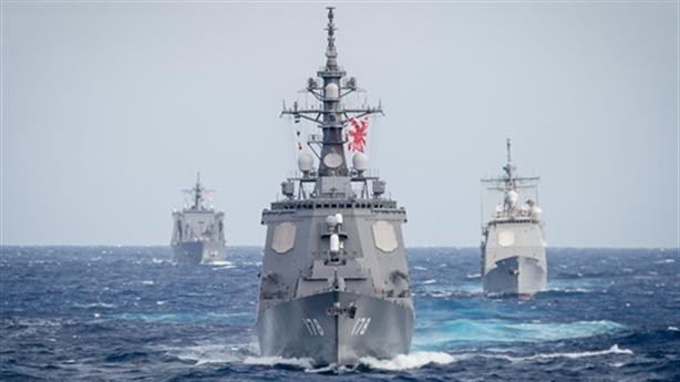 Chiến hạm Nhật thay nhiệm vụ hệ thống Aegis Ashore