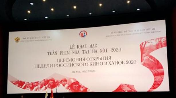 Khai mạc Tuần phim Nga tại Việt Nam 2020