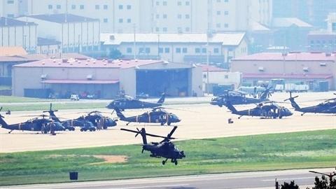 Vì sao Mỹ trả lại 12 căn cứ cho Hàn Quốc?