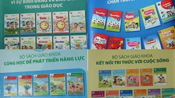 SGK Tiếng Việt 1 của NXB Giáo dục cũng nhiều sạn