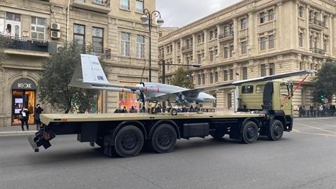 Thông điệp của ông Erdogan qua cuộc duyệt binh tại Baku