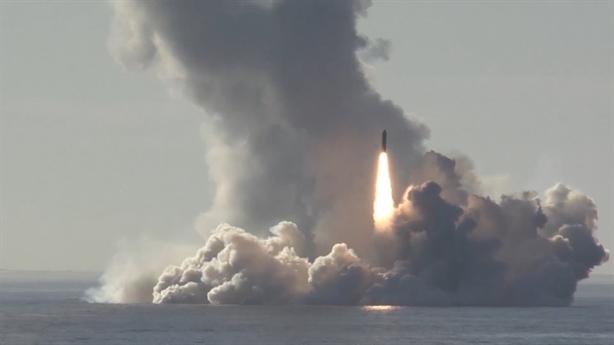 4 tên lửa Bulava làm náo loạn căn cứ Ramstein của Mỹ?