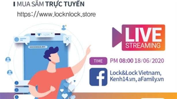 Up to 50% tại Lock&Lock F2C Long Hậu và F2C Bắc Ninh