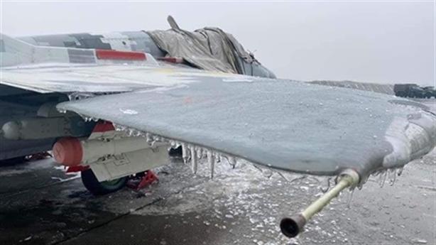 Tiêm kích MiG-29 của Ukraine không thể bay do... bị đóng băng