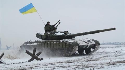 Quân đội Ukraine thực hành chiến thuật tấn công tổng lực